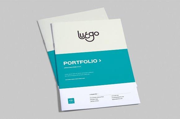 Free Indesign Portfolio Templates Beautiful Indesign Portfolio Template Brochure Templates On