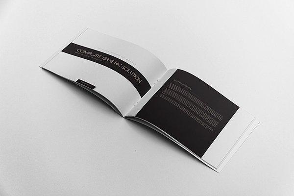 Free Indesign Portfolio Templates Best Of Multipurpose Portfolio Brochure Landscape On Behance