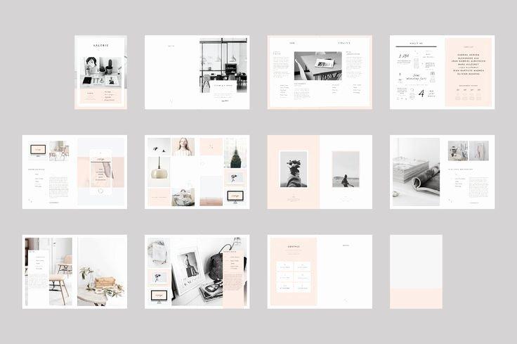 Free Indesign Portfolio Templates Elegant Graphic Design Proposal Template Indesign Google Search