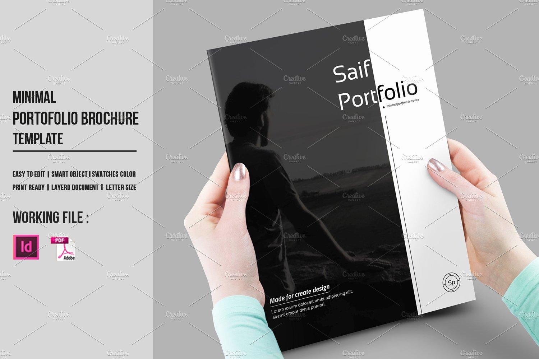Free Indesign Portfolio Templates Inspirational Indesign Portfolio Brochure V430 Brochure Templates