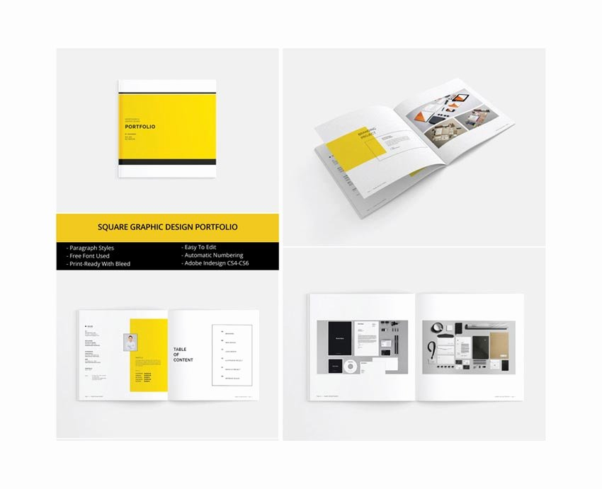 Free Indesign Portfolio Templates Lovely 50 Best Indesign Templates – Creative touchs