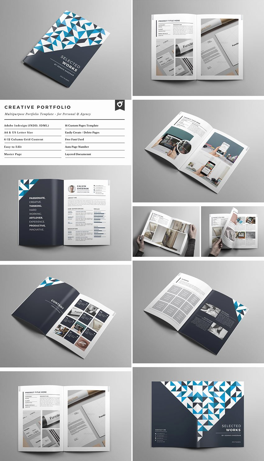 Free Indesign Portfolio Templates New 20 Best Indesign Brochure Templates for Creative