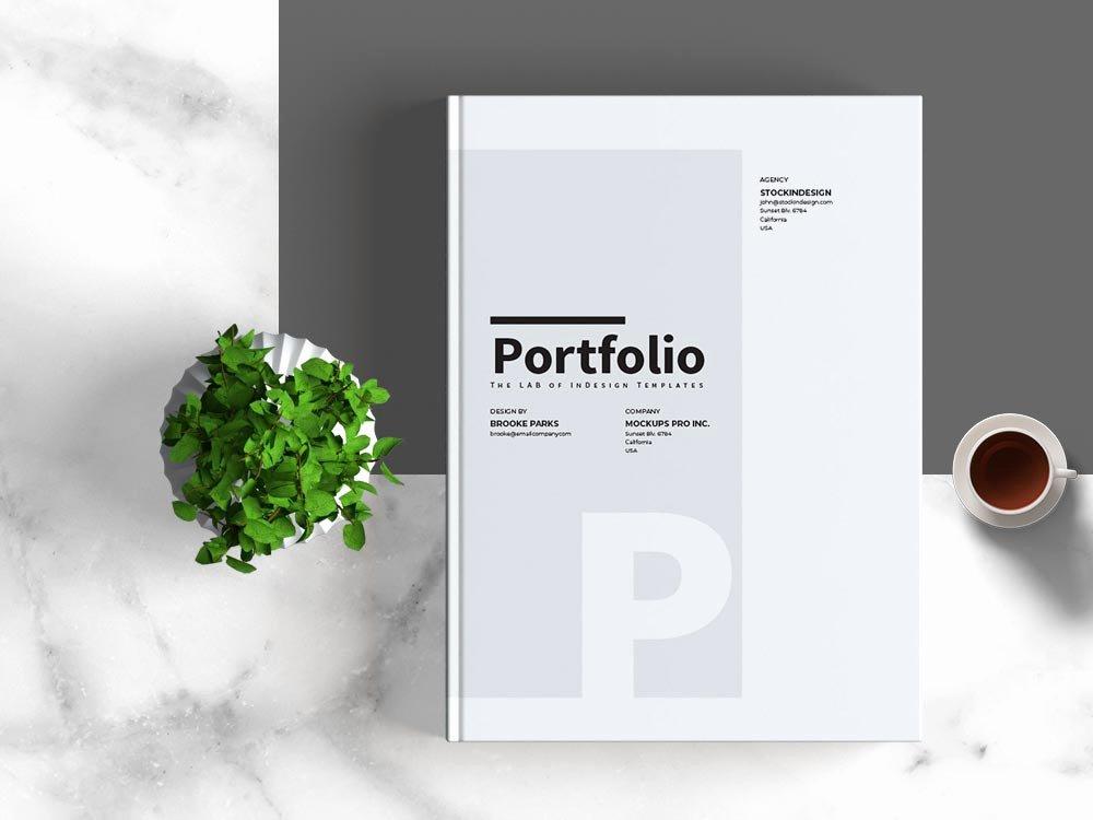 Free Indesign Portfolio Templates New Portfolio Template Stockindesign