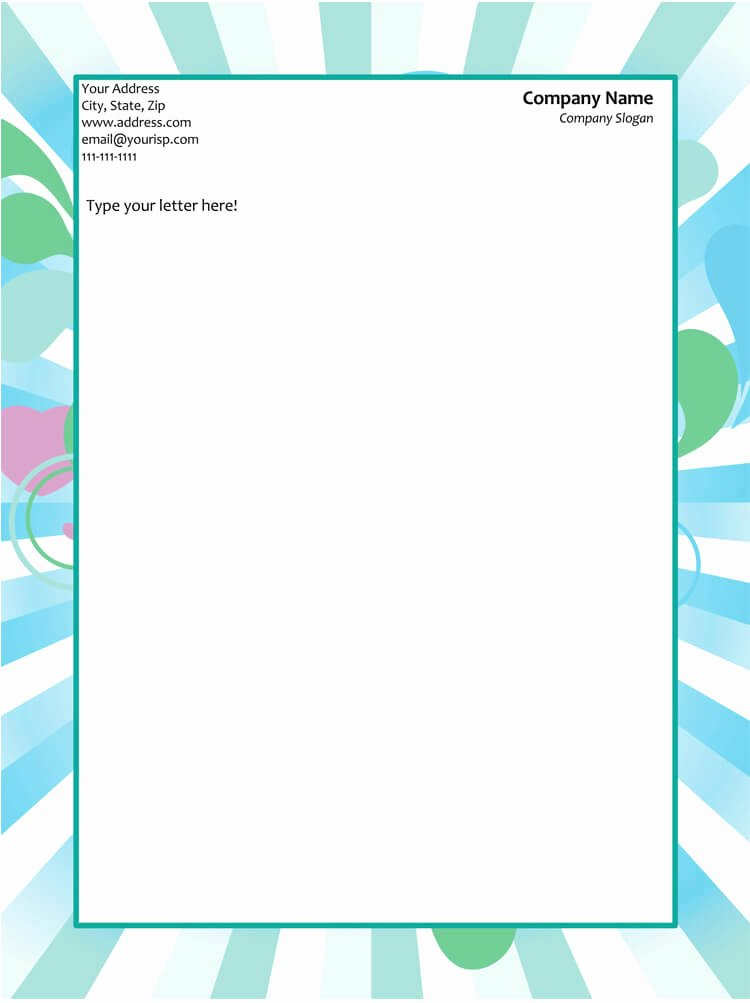 Free Letterhead Template Word Beautiful 50 Free Letterhead Templates for Word Elegant Designs