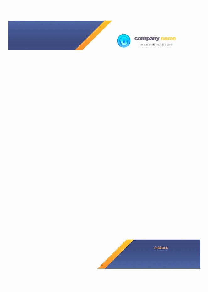 Free Letterhead Template Word Best Of 45 Free Letterhead Templates & Examples Pany