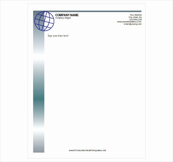 Free Letterhead Template Word Fresh New Letterhead Sample Pdf for You