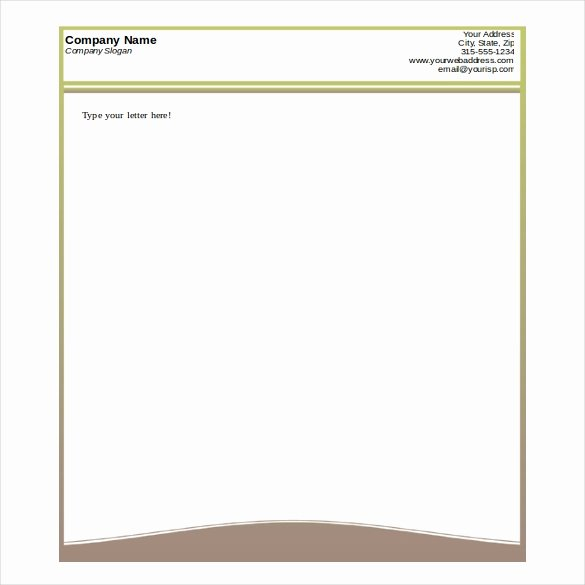 Free Letterhead Template Word Luxury 35 Free Download Letterhead Templates In Microsoft Word