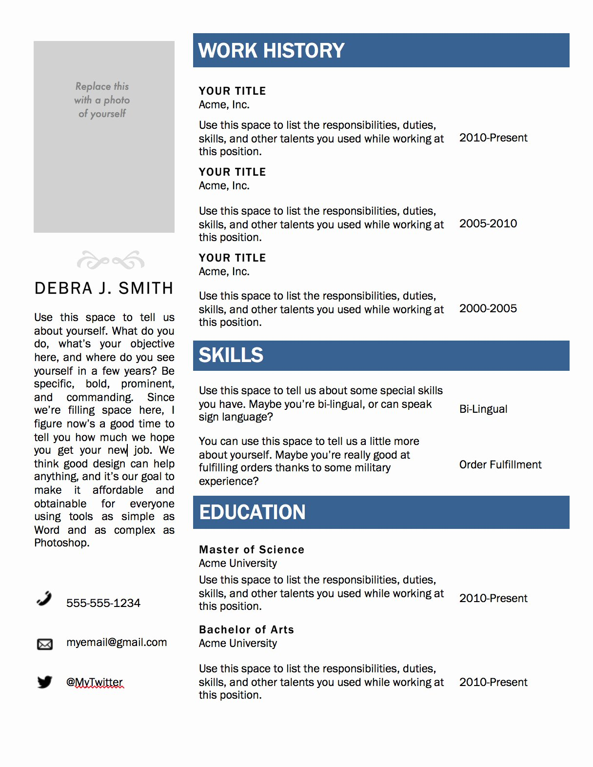 Free Microsoft Word Templates Unique Free Microsoft Word Resume Template — Superpixel