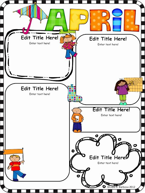 Free Newsletter Templates for Teachers Best Of Kinder Alphabet
