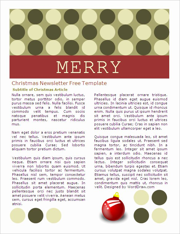 Free Newsletter Templates Word Awesome 27 Microsoft Newsletter Templates Doc Pdf Psd Ai
