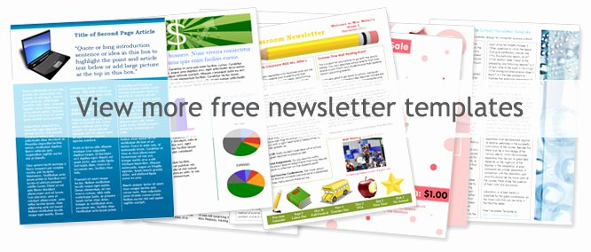 Free Newsletter Templates Word Fresh Free Church Newsletter Templates Worddraw