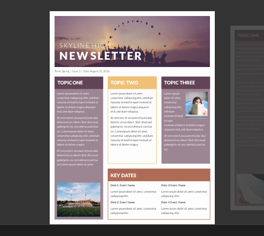 Free Newsletter Templates Word Lovely 15 Free Microsoft Word Newsletter Templates for Teachers
