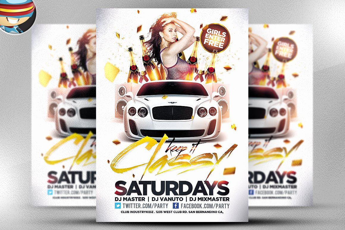 Free Party Flyer Templates Best Of 50 Cool Club Flyers & Party Flyer Templates