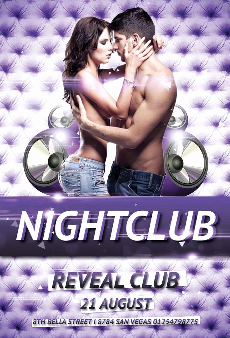 Free Party Flyer Templates Inspirational Free Nightclub Party Psd Flyer Template Download