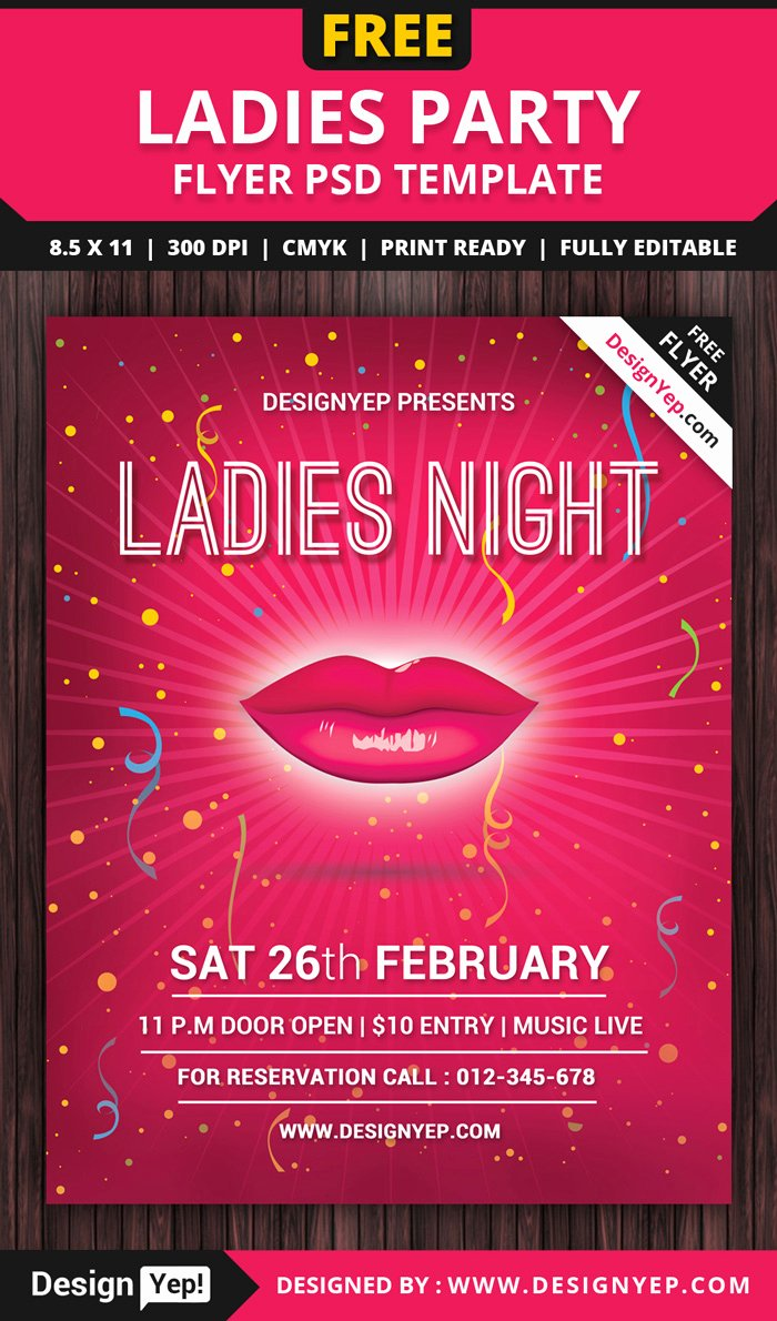 Free Party Flyer Templates Luxury 55 Free Party & event Flyer Psd Templates Designyep