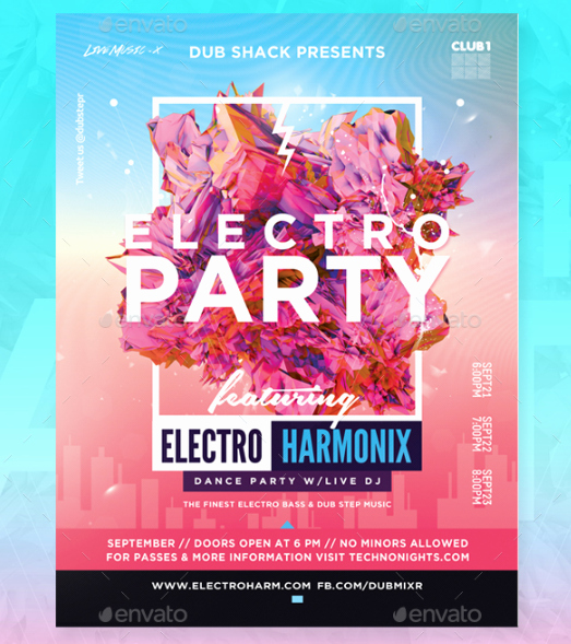 Free Party Flyer Templates Unique 15 Free Party and event Flyer Psd Templates Xdesigns