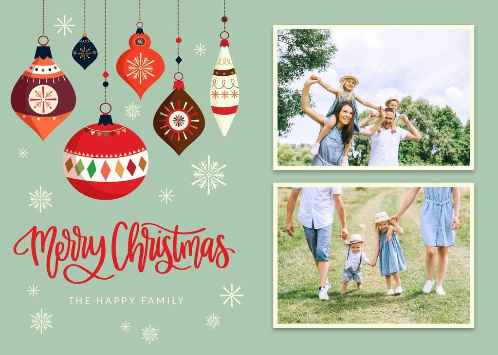 Free Photo Christmas Card Templates Awesome 3 Free Christmas & Holiday Card Templates Free Download