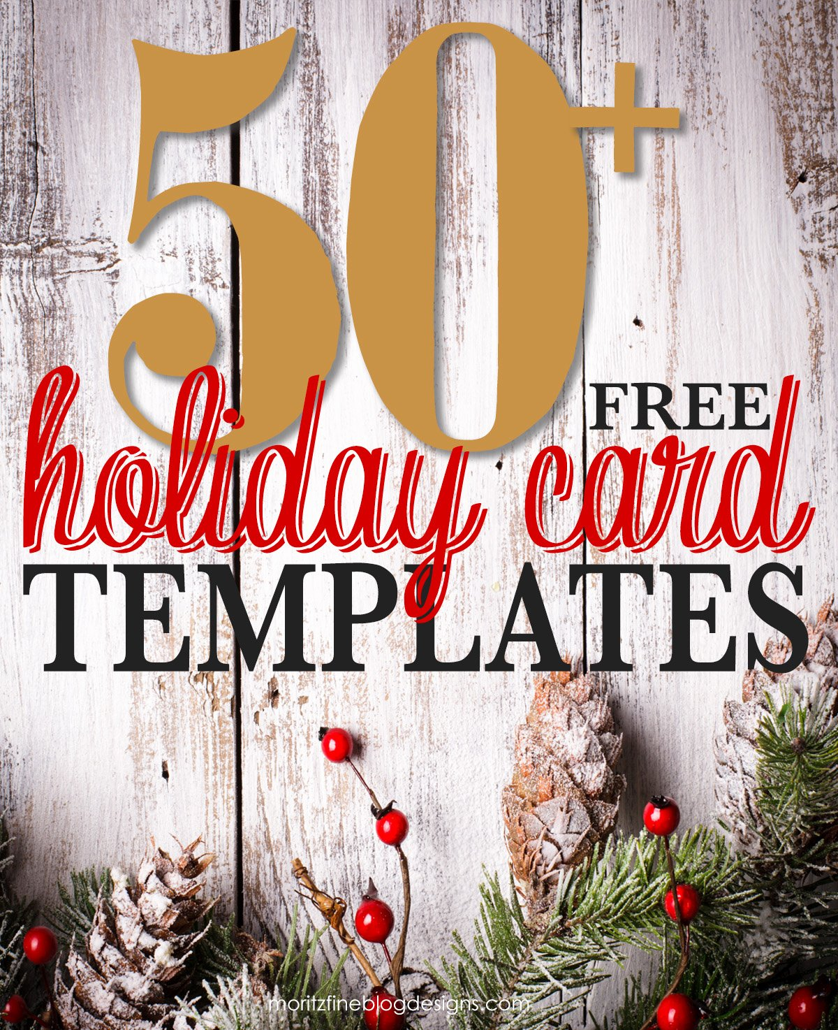 Free Photo Christmas Card Templates Awesome 50 Free Holiday Card Templates