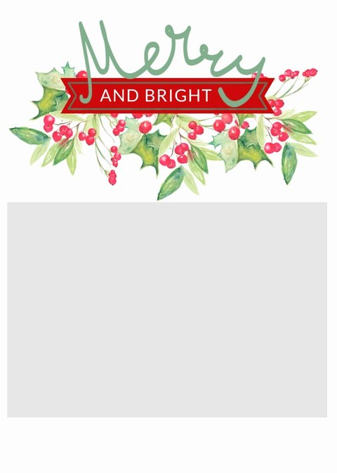 Free Photo Christmas Card Templates Awesome Free Christmas Card Templates the Crazy Craft Lady
