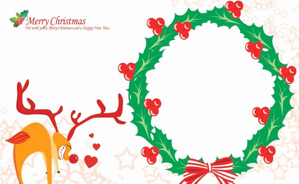 Free Photo Christmas Card Templates Beautiful A Variety Of Free Christmas Card Templates for You to Diy