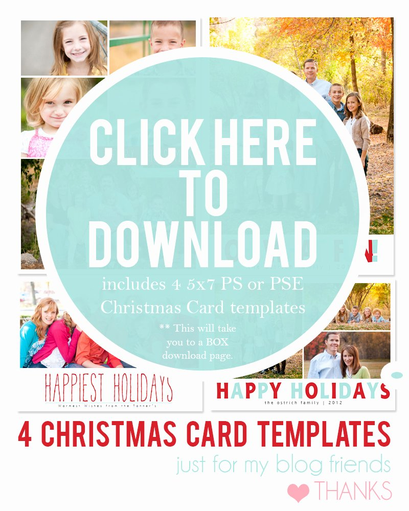 Free Photo Christmas Card Templates Inspirational Diy Holiday Postcards 14 Free Holiday Card Templates