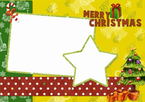Free Photo Christmas Card Templates New A Variety Of Free Christmas Card Templates for You to Diy