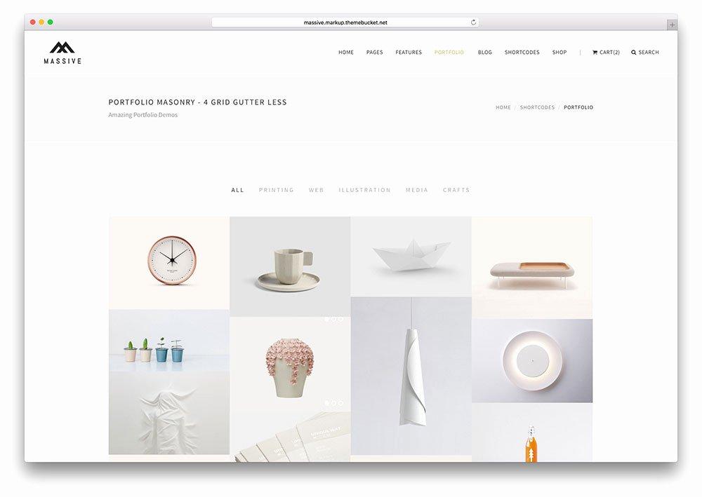 Free Portfolio Website Templates Elegant 35 Best Portfolio Website Templates [html & Wordpress