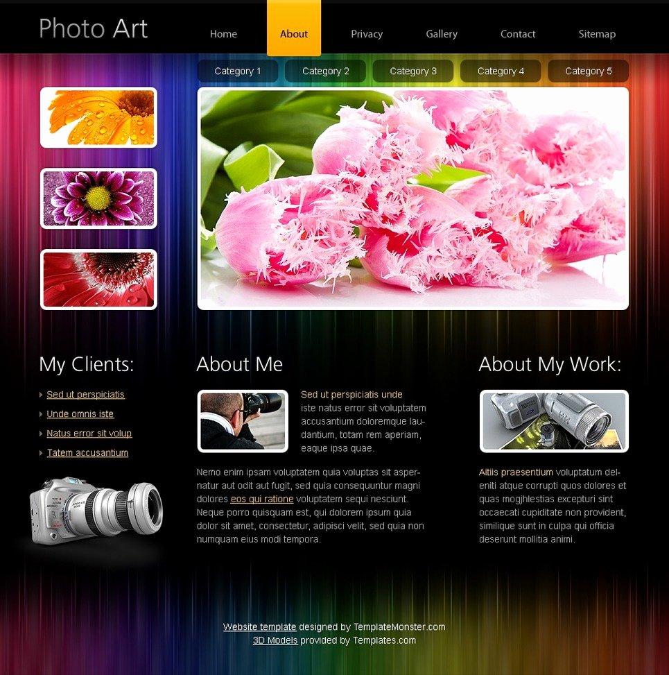 Free Portfolio Website Templates Elegant Free HTML5 Website Template Portfolio