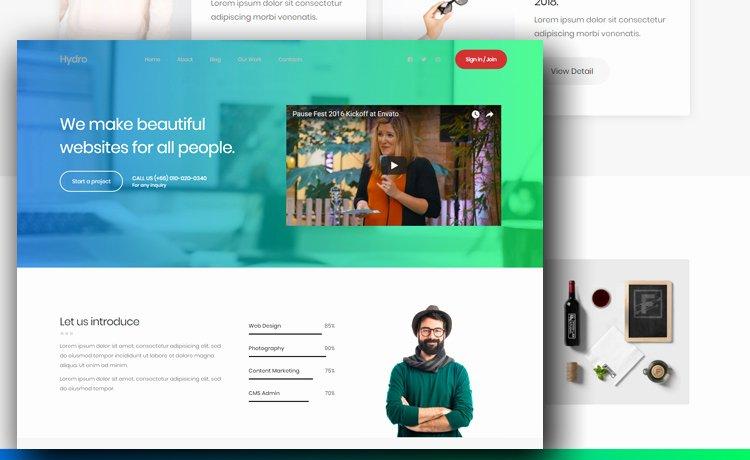 Free Portfolio Website Templates Fresh Free Portfolio Website Template to Create A Beautiful