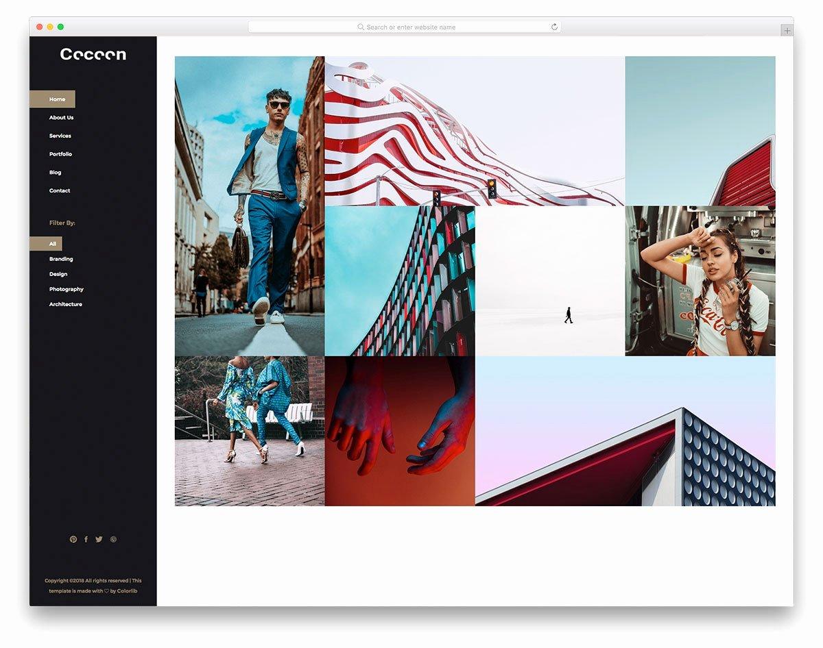 Free Portfolio Website Templates Inspirational 26 astonishing Free Bootstrap 4 Portfolio Website