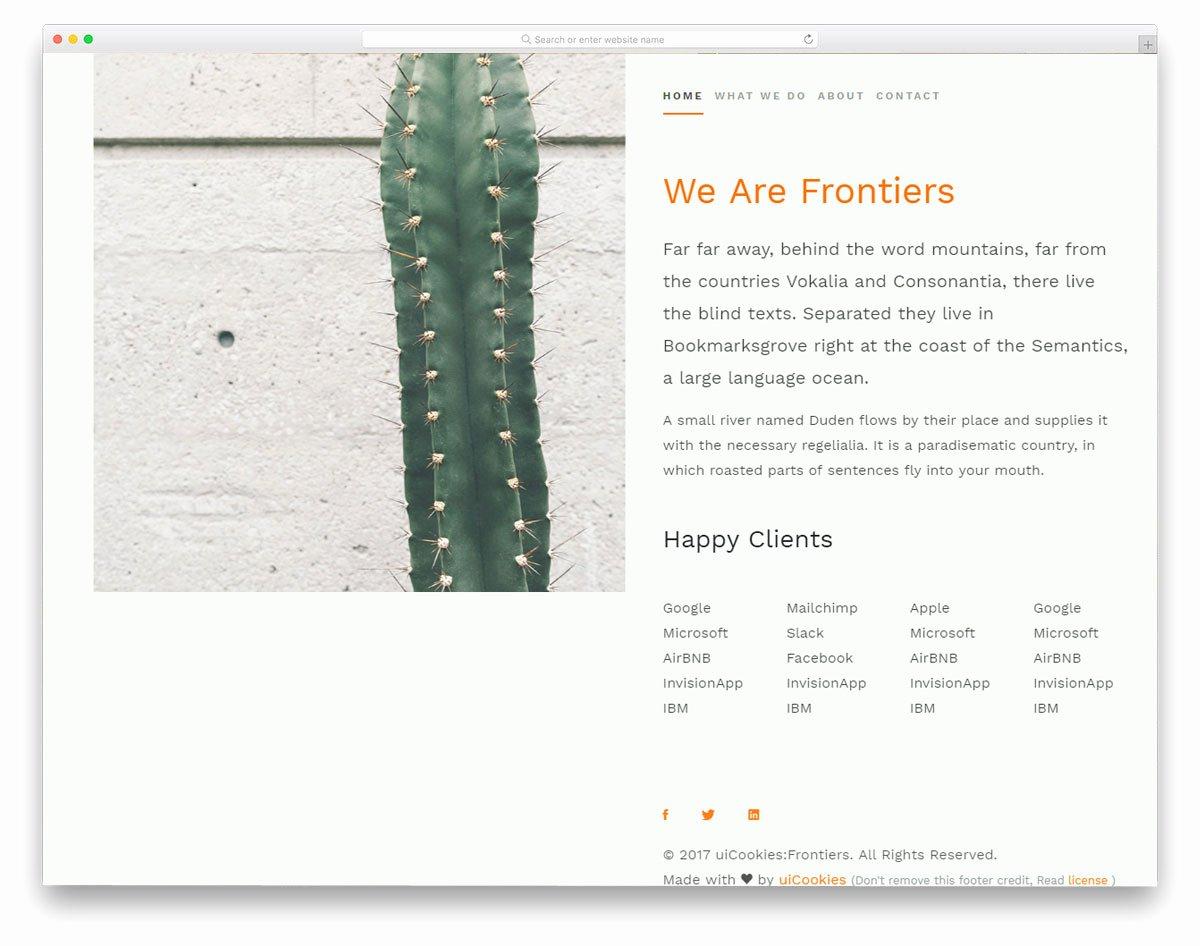 Free Portfolio Website Templates Inspirational 28 Free Portfolio Website Templates for All Creative