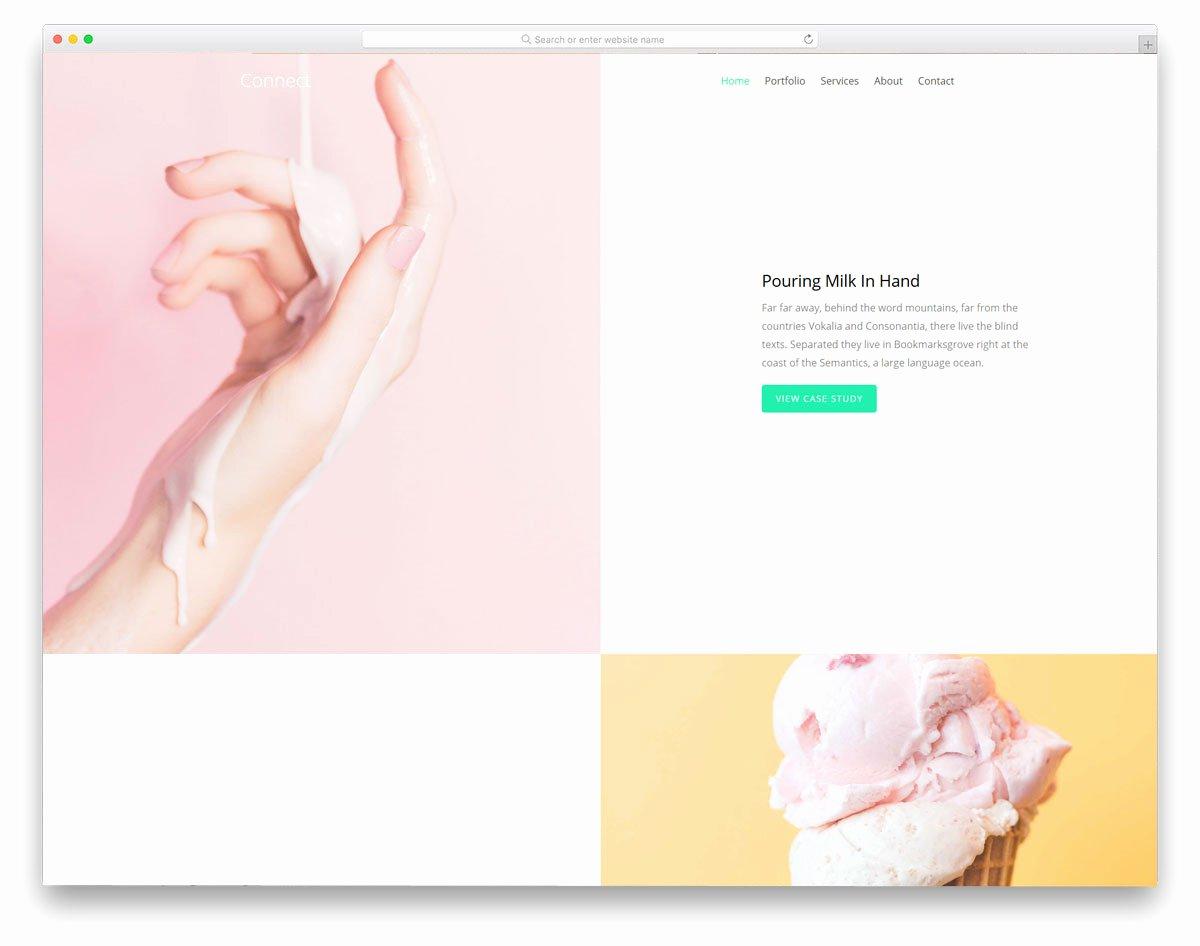 Free Portfolio Website Templates Luxury 28 Free Portfolio Website Templates for All Creative