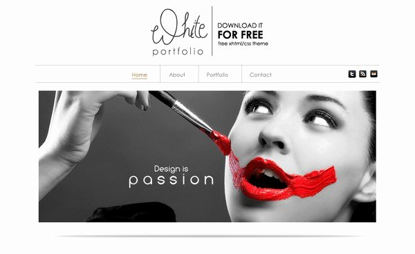 Free Portfolio Website Templates Unique 24 Free and Premium Portfolio Website Templates