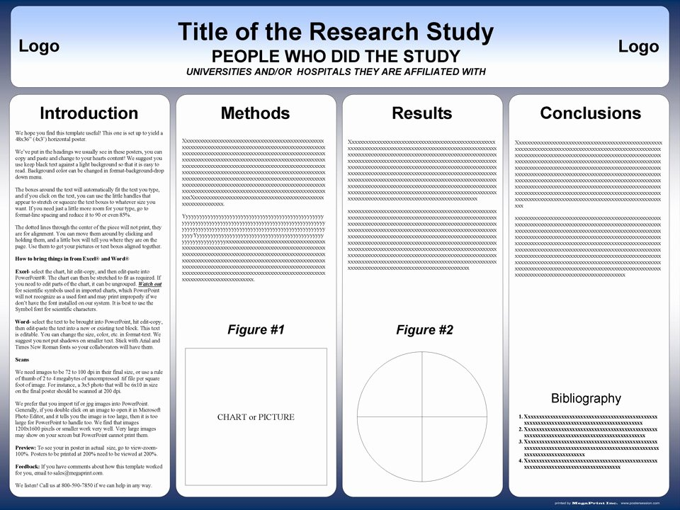 Free Powerpoint Poster Templates Awesome Free Powerpoint Scientific Research Poster Templates for
