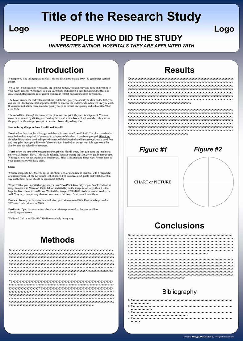 Free Powerpoint Poster Templates Beautiful Free Powerpoint Scientific Research Poster Templates for
