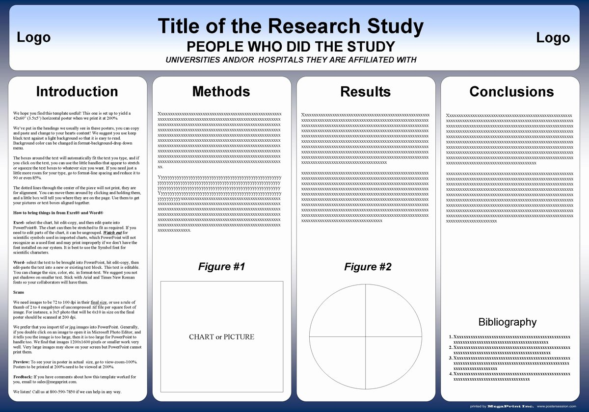 Free Powerpoint Poster Templates Best Of Free Powerpoint Scientific Research Poster Templates for