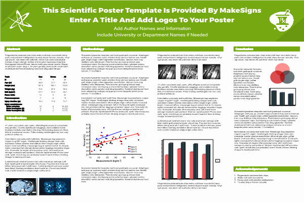 Free Powerpoint Poster Templates Best Of Scientfic Poster Powerpoint Templates
