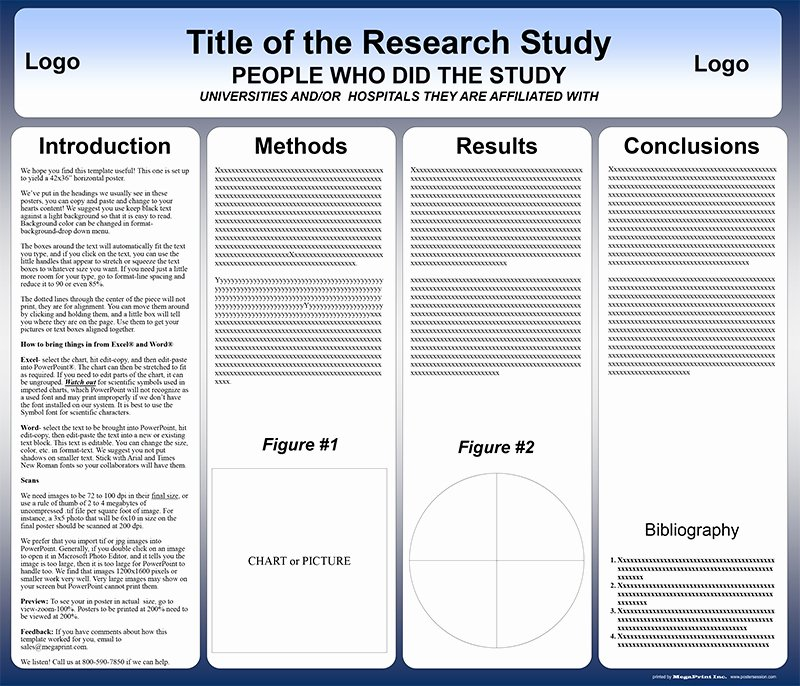 Free Powerpoint Poster Templates Elegant Free Powerpoint Scientific Research Poster Templates for