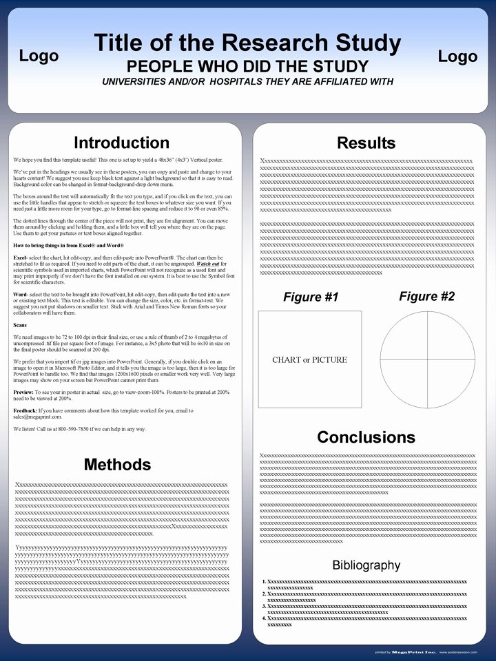 Free Powerpoint Poster Templates Elegant Poster Template Powerpoint