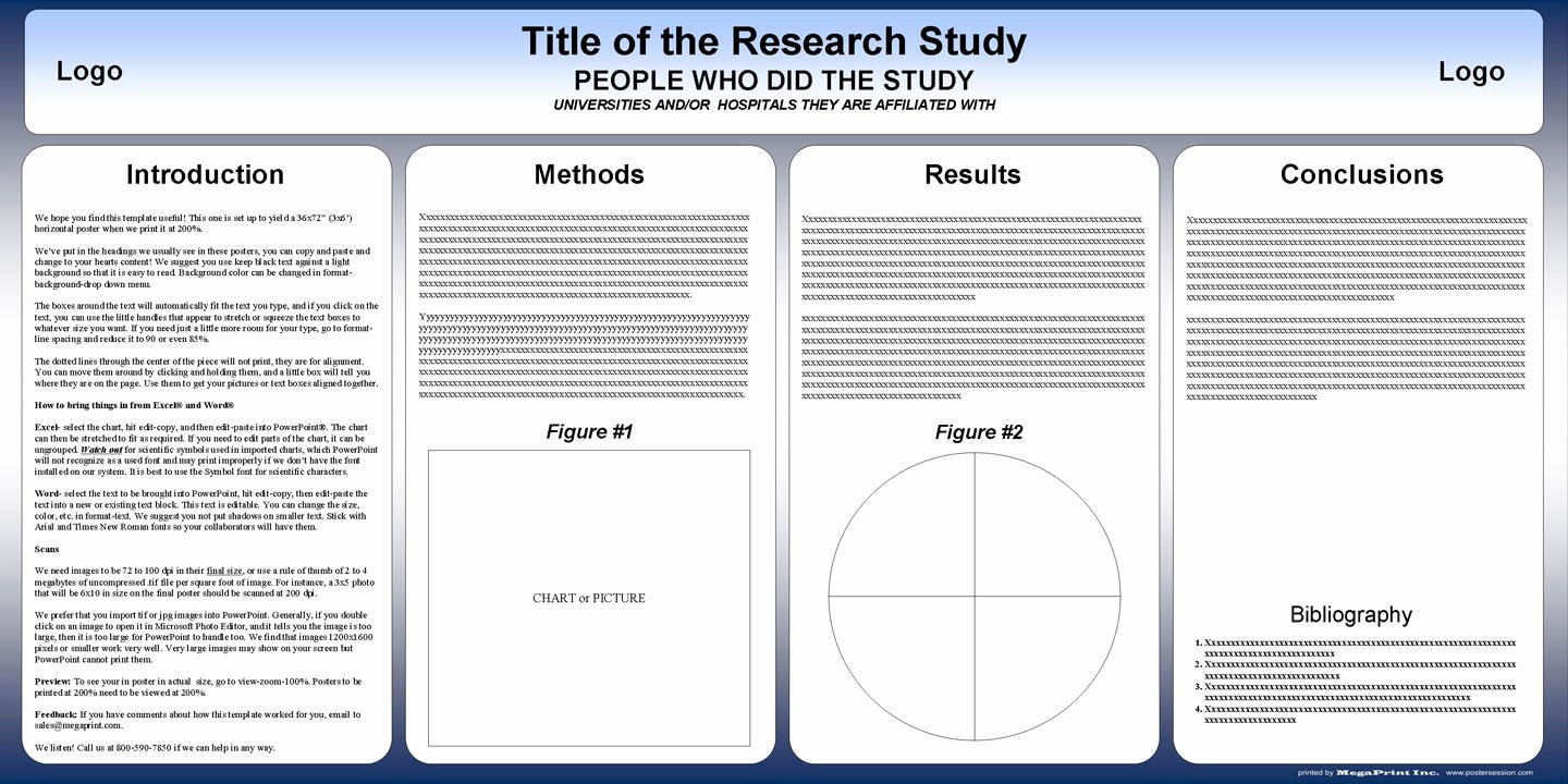 Free Powerpoint Poster Templates Fresh Free Powerpoint Scientific Research Poster Templates for