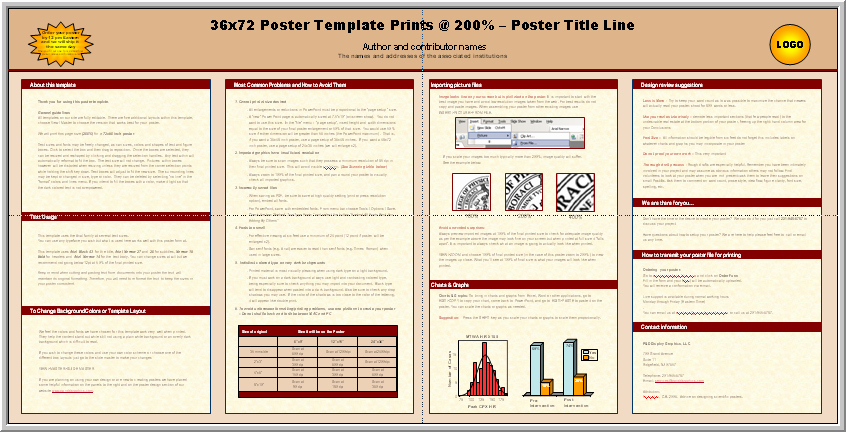 Free Powerpoint Poster Templates Fresh Posters4research Free Powerpoint Scientific Poster Templates