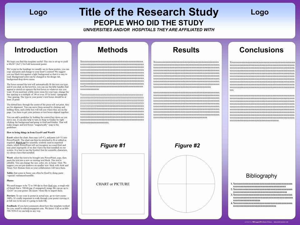 Free Powerpoint Poster Templates Lovely Free Powerpoint Scientific Research Poster Templates for