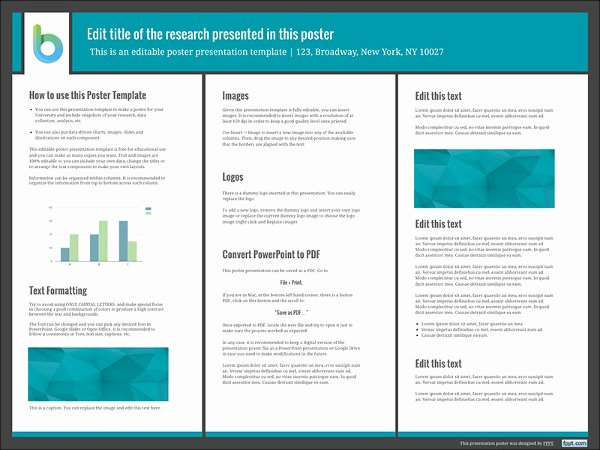 Free Powerpoint Poster Templates New 7 Awesome Powerpoint Poster Templates