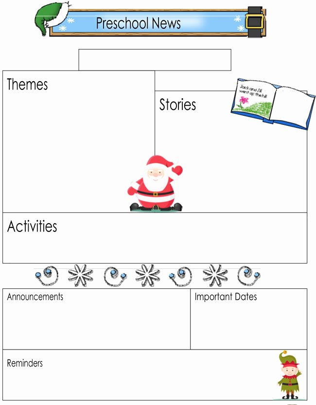 Free Preschool Newsletter Templates Awesome 16 Preschool Newsletter Templates Easily Editable and