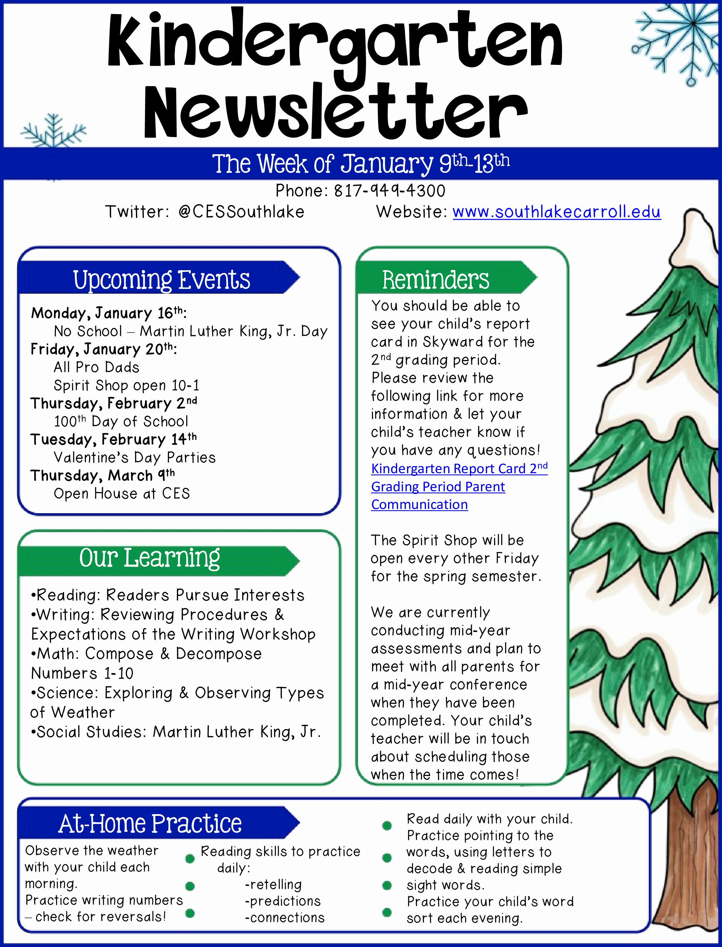 Free Preschool Newsletter Templates Fresh Kindergarten Newsletter Example