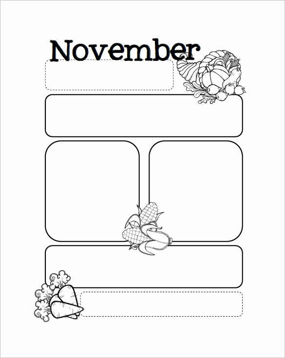 Free Preschool Newsletter Templates Unique Free Preschool Newsletter Templates