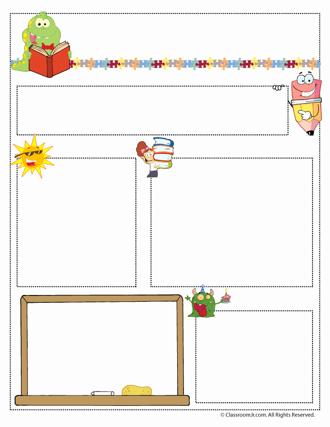 Free Preschool Newsletter Templates Unique Teacher Newsletter Templates Teacher Newsletter Templates