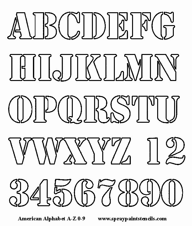Free Printable Alphabet Stencils Best Of Best 25 Alphabet Stencils Ideas On Pinterest