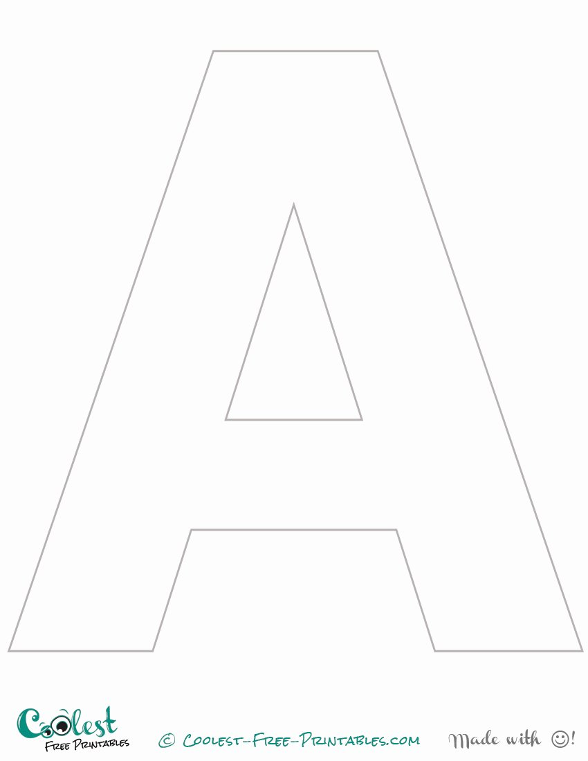 Free Printable Alphabet Stencils Elegant Letter Stencils Printable