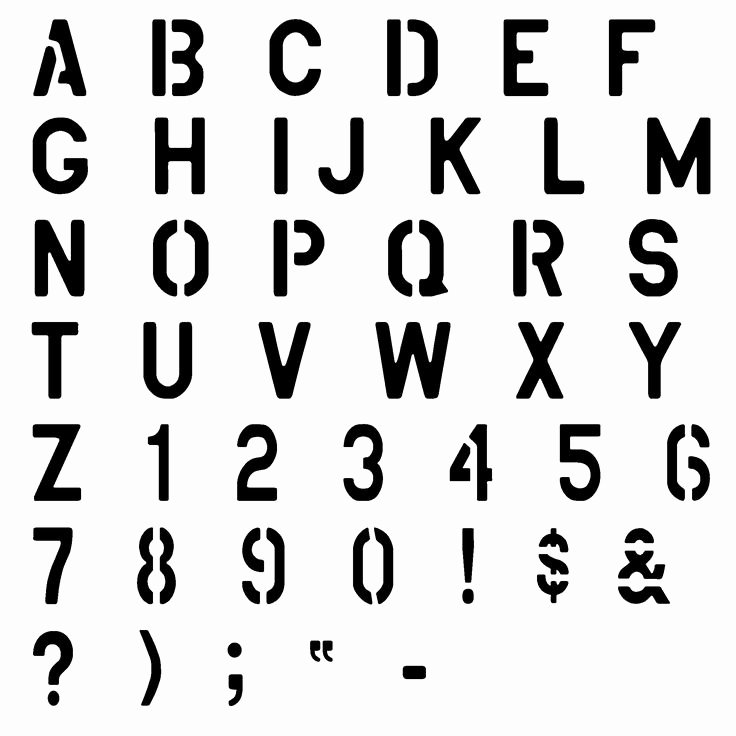 Free Printable Alphabet Stencils New Best 25 Alphabet Stencils Ideas On Pinterest